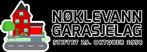 NØKLEVANN GARASJELAG BA Logo